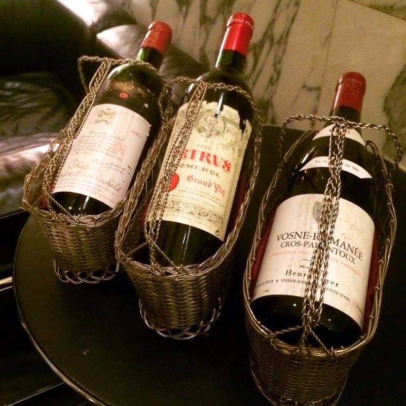 六本木の超高級ワイン!