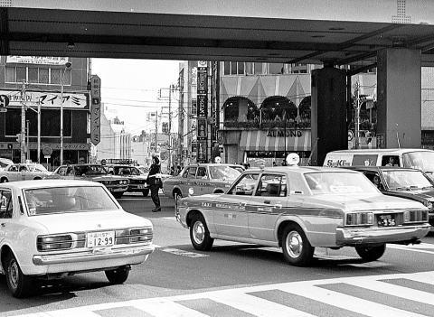 1978年11月の六本木交差点