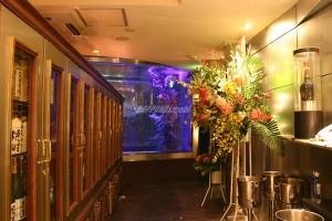 クラブ フュージョンの水槽