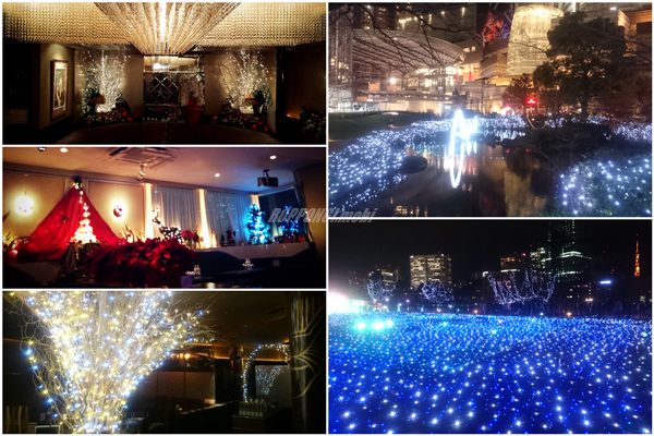 六本木のクリスマス イルミネーション 2015