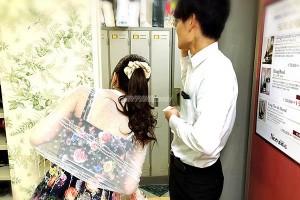 きんこんか!高級クラブ瑾鵾花の大型個別ロッカー更衣室の画像
